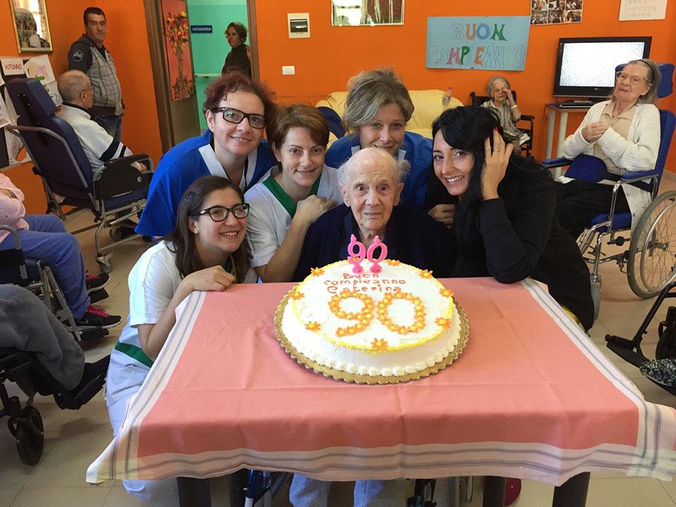 """Festa di compleanno """"I 90 anni di Caterina"""""""