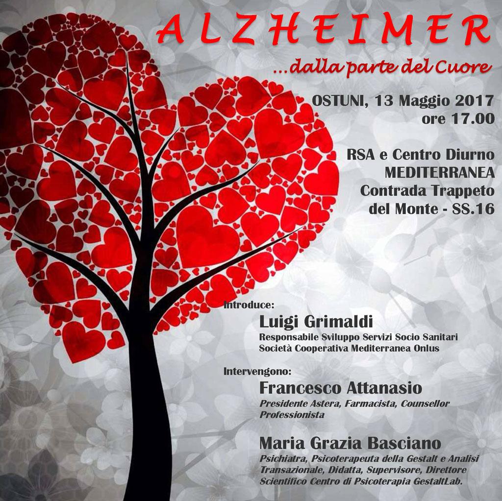 """Convegno organizzato con l'associazione Astera """"Alzheimer: dalla parte del cuore"""""""