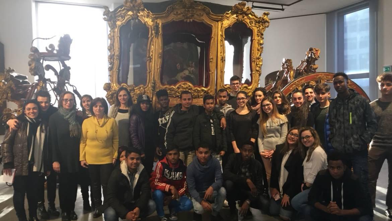 """Pomeriggi da """"turisti"""" per i minori stranieri non accompagnati di Casa Ahmed ospite del MuME, il Museo regionale di Messina"""