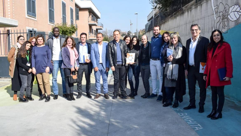Sprar Bakhita, la Medihospes accoglie la delegazione del governo argentino
