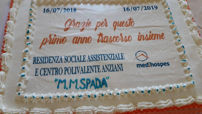 """Ruvo di Puglia, la Medihospes festeggia il primo anno di vita dell' RSA """"M. M. Spada"""""""