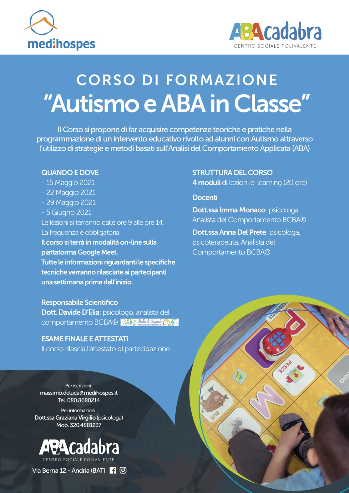 Autismo e ABA in Classe