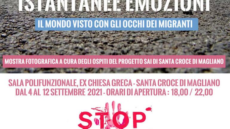 Santa Croce di Magliano, la mostra della Medihospes che racconta l'integrazione dei migranti